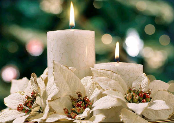 Weihnachts kerzen
