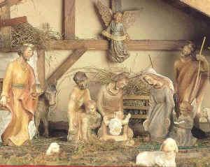 Weihnachts stall bilder