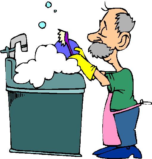 Abwaschen cliparts