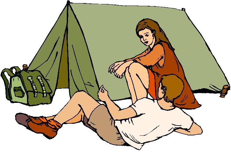 Camping cliparts