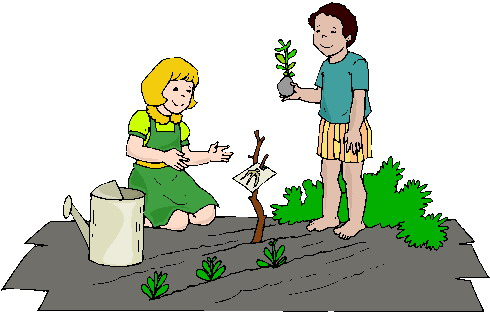 Gartenarbeiten cliparts
