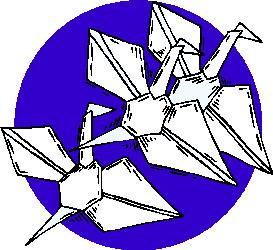Origami cliparts