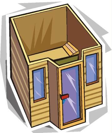 Sauna cliparts