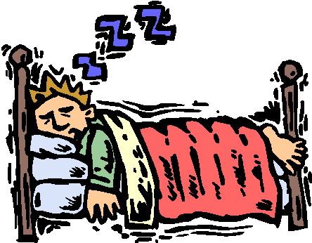 Mann und frau im liegestuhl clipart  Schlafen Cliparts