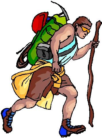 Wandern cliparts