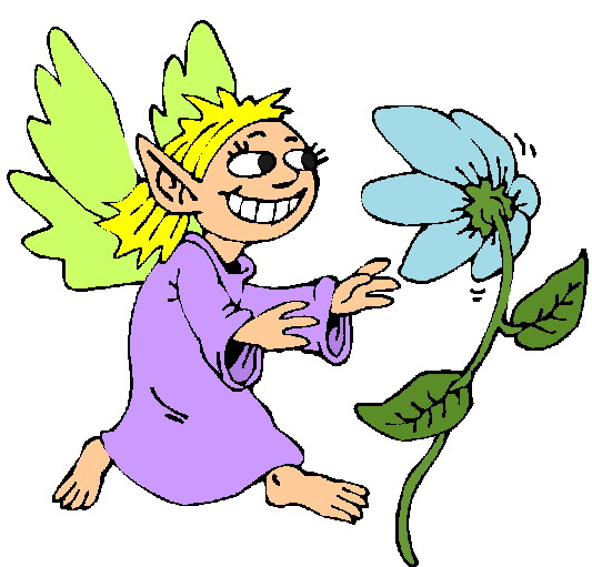 Blumen madchen cliparts