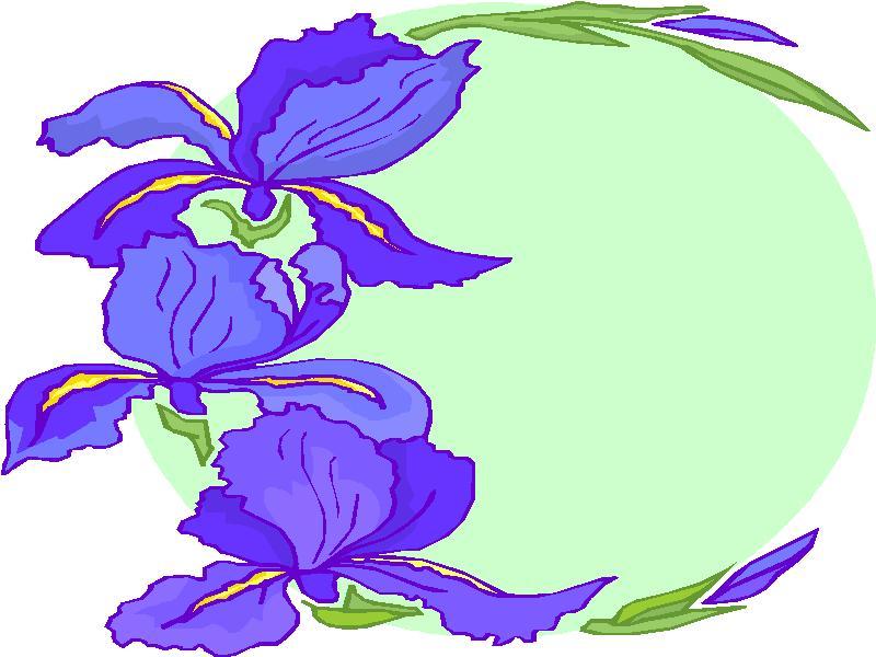 Blumenrahmen cliparts