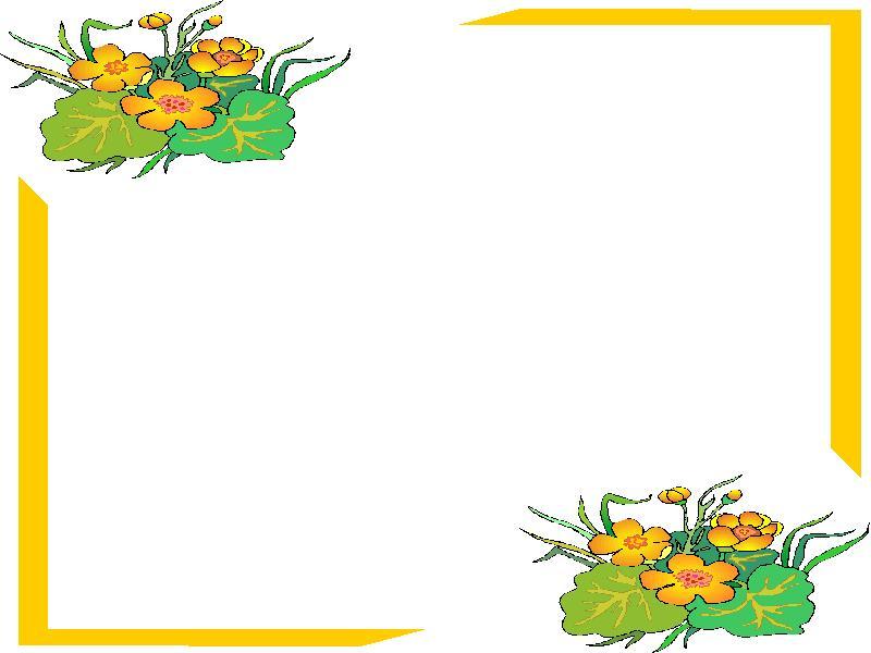 Clipart animaatjes bloemen kaders 13033 - Marcos para plantas ...