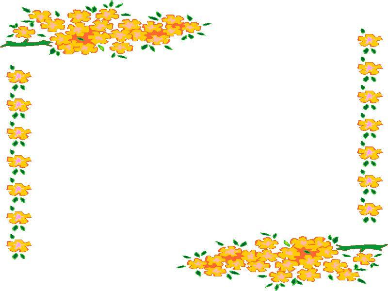 clipart animaatjes bloemen kaders 39681. Black Bedroom Furniture Sets. Home Design Ideas