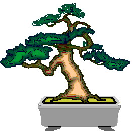 Bonsai cliparts
