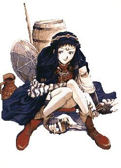 Anime cliparts