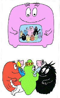 Barbapapa cliparts