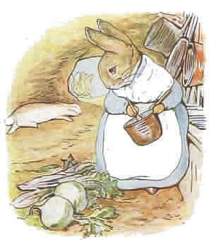 Beatrix potter cliparts