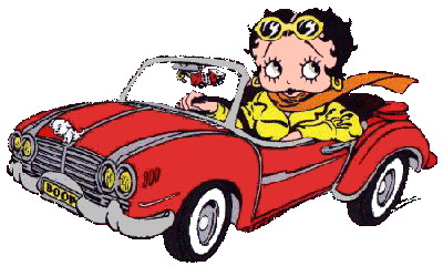 Betty boop cliparts