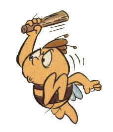 Biene maja cliparts