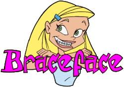Braceface cliparts
