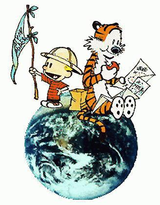 Calvin und hobbes cliparts