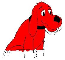 Clifford cliparts