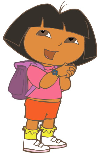 Dora the explorer cliparts