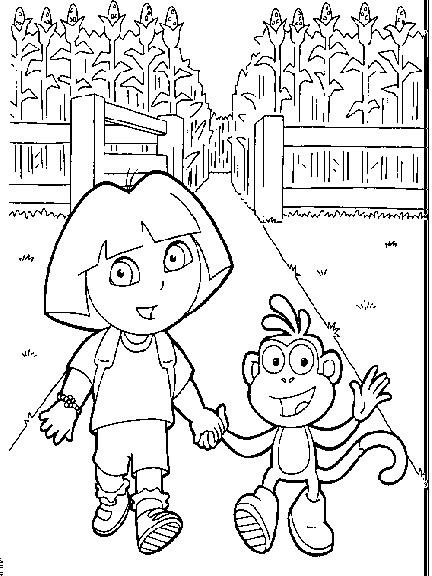 Dora the explorer cliparts