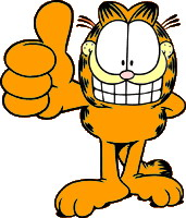 Garfield cliparts