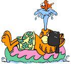 Garfield cliparts