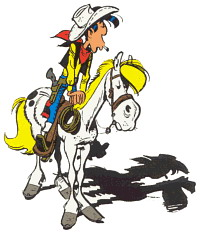 Lucky luke cliparts