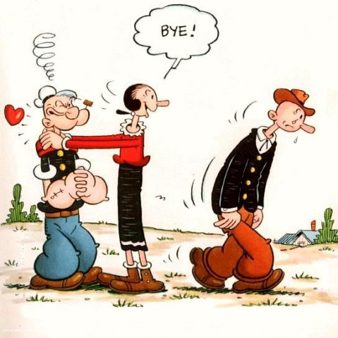 Popeye cliparts