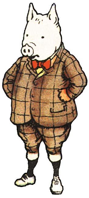 Rupert bear cliparts