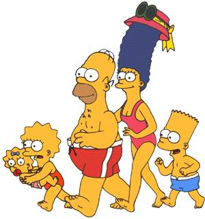 Simpsons cliparts