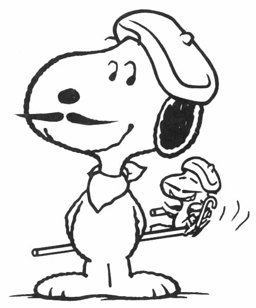 Snoopy cliparts