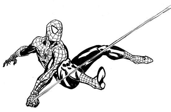 Spiderman cliparts