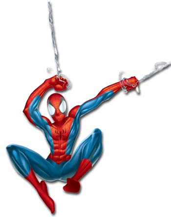 Spiderman cliparts