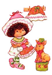 Strawberry shortcake cliparts