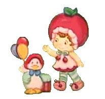 Strawberry shortcake cliparts