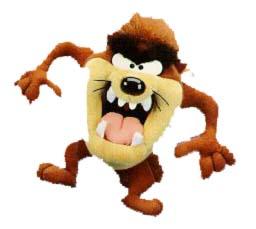 Tasmanian devil cliparts