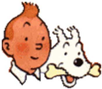 Tim und struppi cliparts