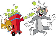 Tom und jerry cliparts