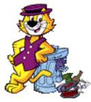 Top cat cliparts