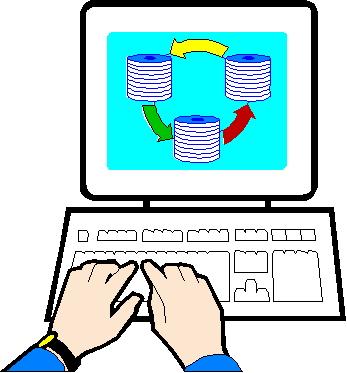 Computermonitor cliparts