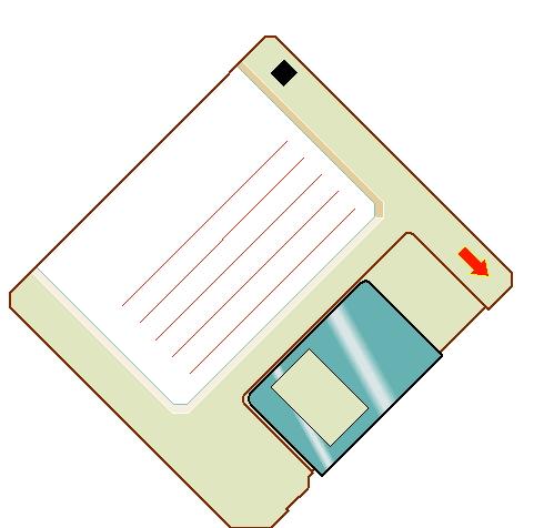 Diskette cliparts