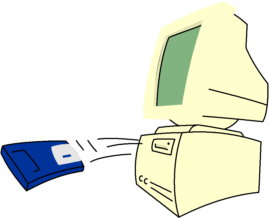 Diskette cliparts