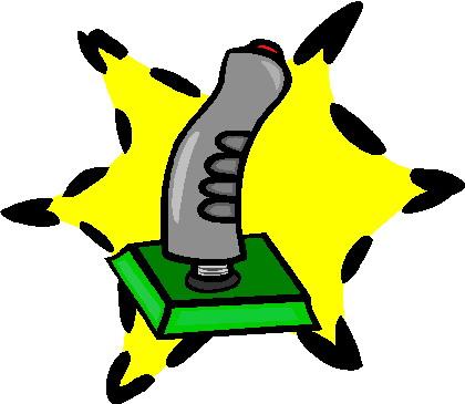Joystick cliparts