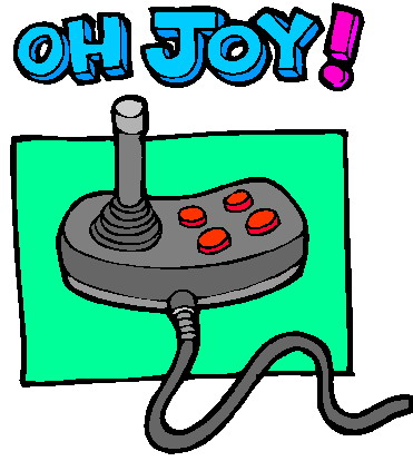 Joystick cliparts