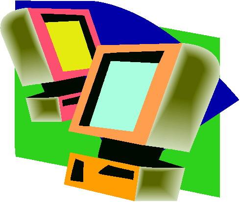 Computer cliparts