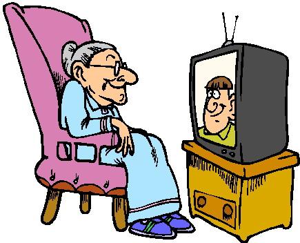 Clipart - Clipart televisie animaatjes 28
