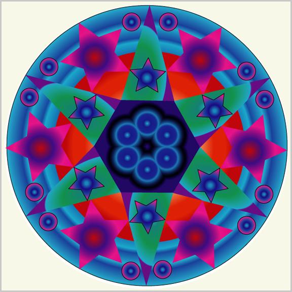 Kaleidoskop cliparts