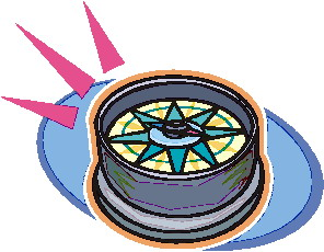 Kompass cliparts