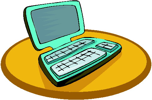 Laptop cliparts