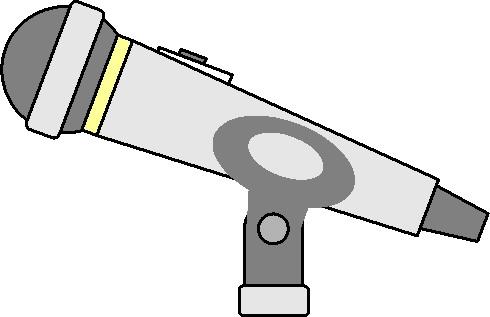 Kleurplaat Microfoon Clipart Clipart Microfoon Animaatjes 28